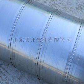 304环保圆形螺旋风管 管道通风排烟镀锌板风管