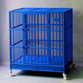厂家直销定制铁丝、方管金属狗笼