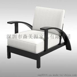 北欧单人沙发椅 小户型客厅小沙发卧室阳台椅
