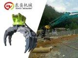 挖掘机抓木器 360度抓木机 旋转抓木 东奕机械厂