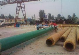 河北鑫金龍dn500聚氨酯復合蒸汽保溫管廠家
