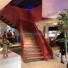 佛山尚步梯業,大型鋼板樓梯+滑滑梯 SBlt-066