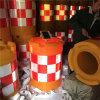 LED太阳能防撞桶,自动发光塑料防撞桶