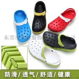 DITTER夏季凉鞋休闲洞洞鞋舒适凉鞋男情侣沙滩鞋