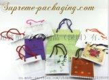 【厂家直销】供应 PO塑料礼品袋/PE穿绳袋