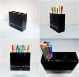 宁波可定制款式 印刷LOGO,亚克力笔筒,压克力笔架(YS513)