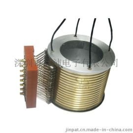 江苏滑环厂家供应无人机大分体式导电军工滑环