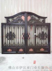 铝艺别墅庭院双开门