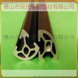 供应货架铝型材 展架铝型材 专卖店展架铝材