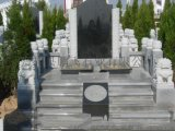 石雕墓碑厂家定做 设计制作 整体石雕墓碑