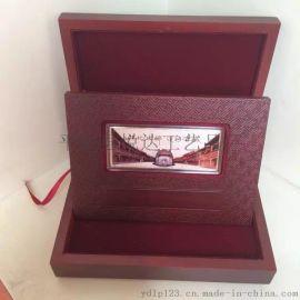 厂家企业定制金银条活动赠品纪念银条开业收藏纪念银条银砖单位