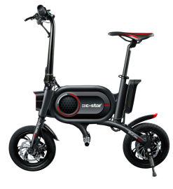 爱路卡登 电动折叠自行车 两轮代步车厂家直销
