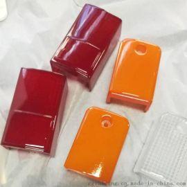 三色灯具手板 3D打印透明透光漆表面处理