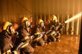 消防部队集装箱真火模拟训练系统/凌鼎真烟真火训练