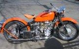 长江款750 单机摩托车 橙色