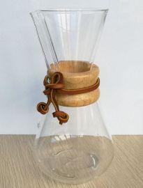 厂家定制耐高温玻璃手冲咖啡滴漏分享壶