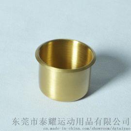 TAIYAO B0003小铜杯纯铜烟灰缸可乐杯杯托