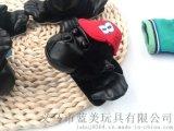 厂家直销毛绒动物头 毛绒玩具猩猩 卡通头 鞋子包包搭配