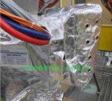 可重复使用的带绝热及饰面层的隔热套机器人防护服