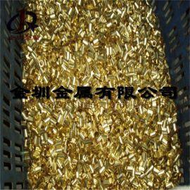 直销厚壁铜管·黄铜管·紫铜管H62`H63`H65`H68`H70机械五金卡套水暖