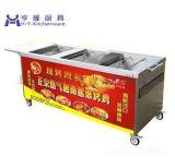 燃气升降式面火炉|燃气烤鸡炉价格|热风循环烤鸡炉|上海升降式煮面炉