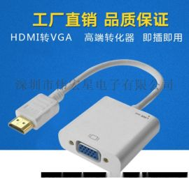 廠家直供 偉星 HDMI轉VGA音視頻轉換器 轉接線