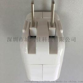 5V2A单USB旅行充电器 可换插头 多功能手机平板充电器批发