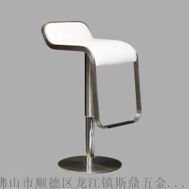 斯鼎S093酒吧家居用不鏽鋼吧椅 升降椅高腳凳 現代酒吧椅定制