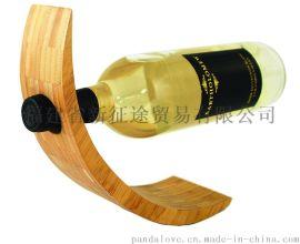家居酒架、红酒展示架子、Wine rack、Bamboo wine rack