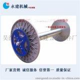 供应津田驹织机配件喷气织轴,经轴,盘头,铝盘(190-360型)