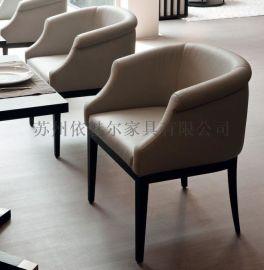 苏州依魅尔 定制 简欧休闲沙发椅  图 E-XY-003