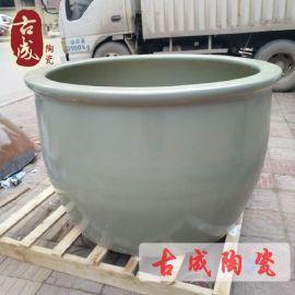 家庭坐式陶瓷浴缸 落地陶瓷大缸 直销90厘米 厂家直销