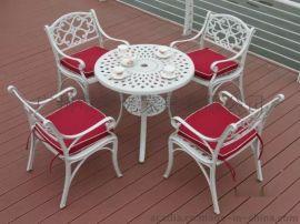 戶外花園鑄鋁家具/別墅休閒桌椅 鋁桌鋁椅