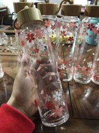 随手茶杯,可爱水杯,定制定做玻璃精品水杯