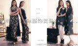紫馨源服饰品牌折扣女装货源批发 品牌女装走份