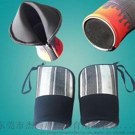 定制韩版潜水料笔袋学生给铅笔文具盒手提化妆包包防水男女用