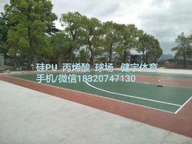硅PU球場地面工程|廣東硅pu球場施工|硅pu球場廠家