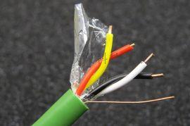 KNX/BUS/EIB2*2*0.8智能家居系统DP总线电缆 草绿色