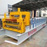 双层琉璃瓦设备 彩钢设备琉璃瓦机器  广东压瓦机