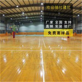 羽毛球木地板 羽毛球場館運動木地板廠家