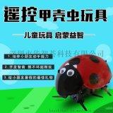 新款益智DIY电动遥控仿生智能瓢虫昆虫甲壳虫机器人玩具