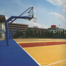 室外木地板球场_室外木地板篮球场【广西三杰体育】