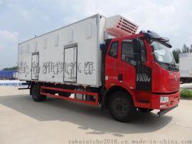 青驰牌鸡苗车价格,7.6米雏禽运输车报价,雅凯鸡苗车报价,山东鸡苗车厂家