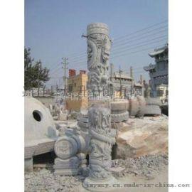 石雕龙柱寺庙龙柱广场龙柱