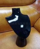 喷漆高光树脂首饰包装人像座摆件道具