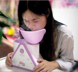 好美特蒸脸器美容仪热喷 纳米补水 香薰喷雾器加湿器