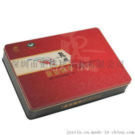 鲜红大枣马口铁礼盒 大枣红色铁盒 金属农产品包装