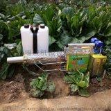 电动背负式果园烟雾机 蔬菜大棚用打药弥雾机视频