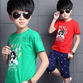 夏季童裝最便宜T恤清貨尾貨雜款童裝上衣低價外貿童裝短袖批發