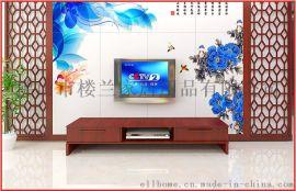 中欧风格背景墙 电视背墙效果图 楼兰空间背景墙